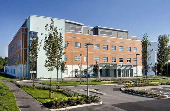 Captain Sir Tom Moore Hospital in Halton.