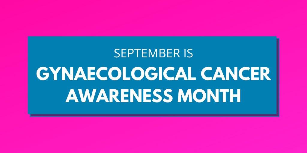September is gyaecological cancer awareness month