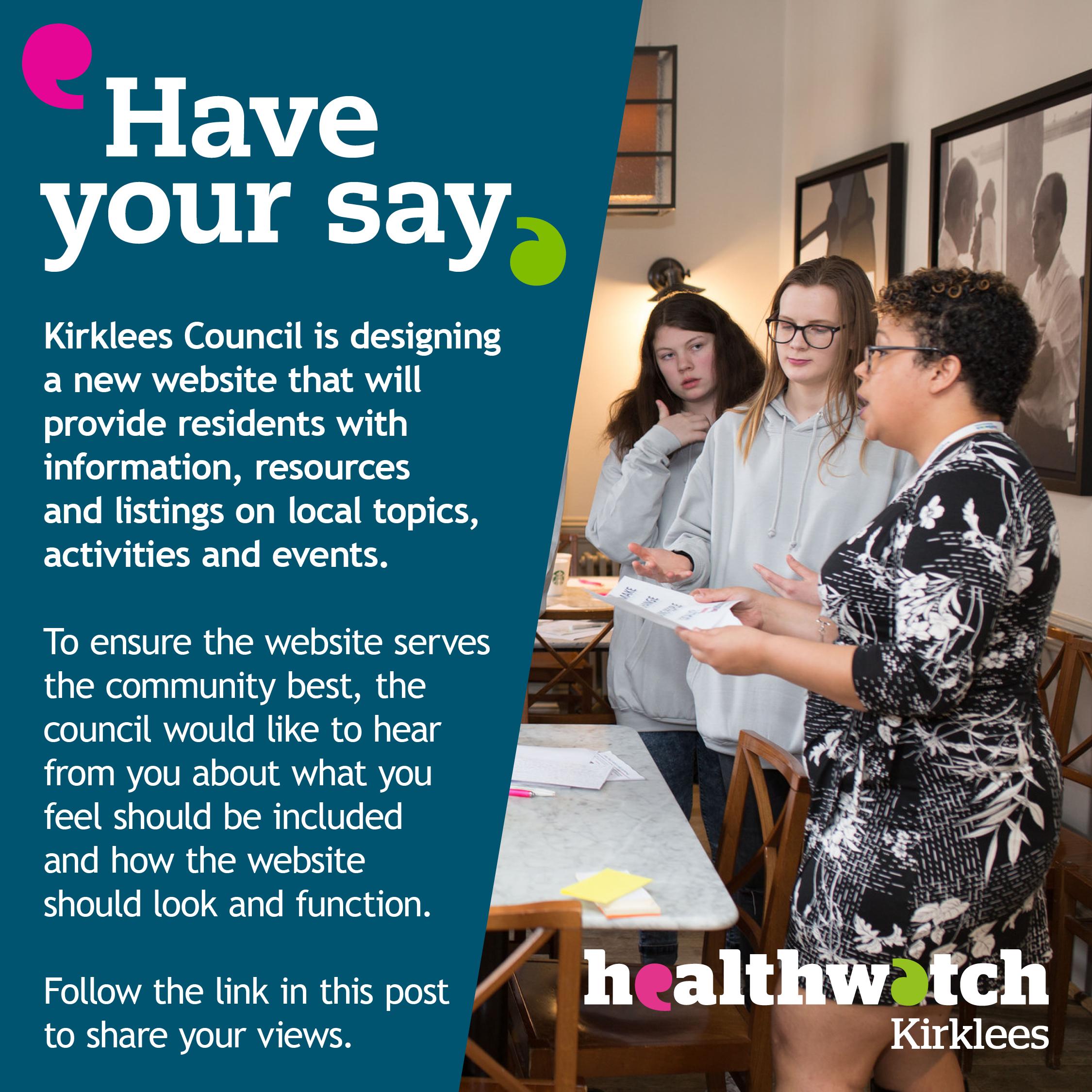 Ask kirklees community