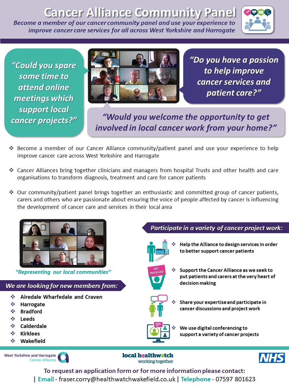 Cancer Care Alliance Poster