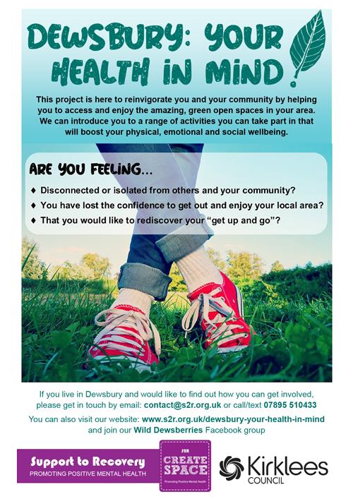 Dewsbury Health in Mind advert