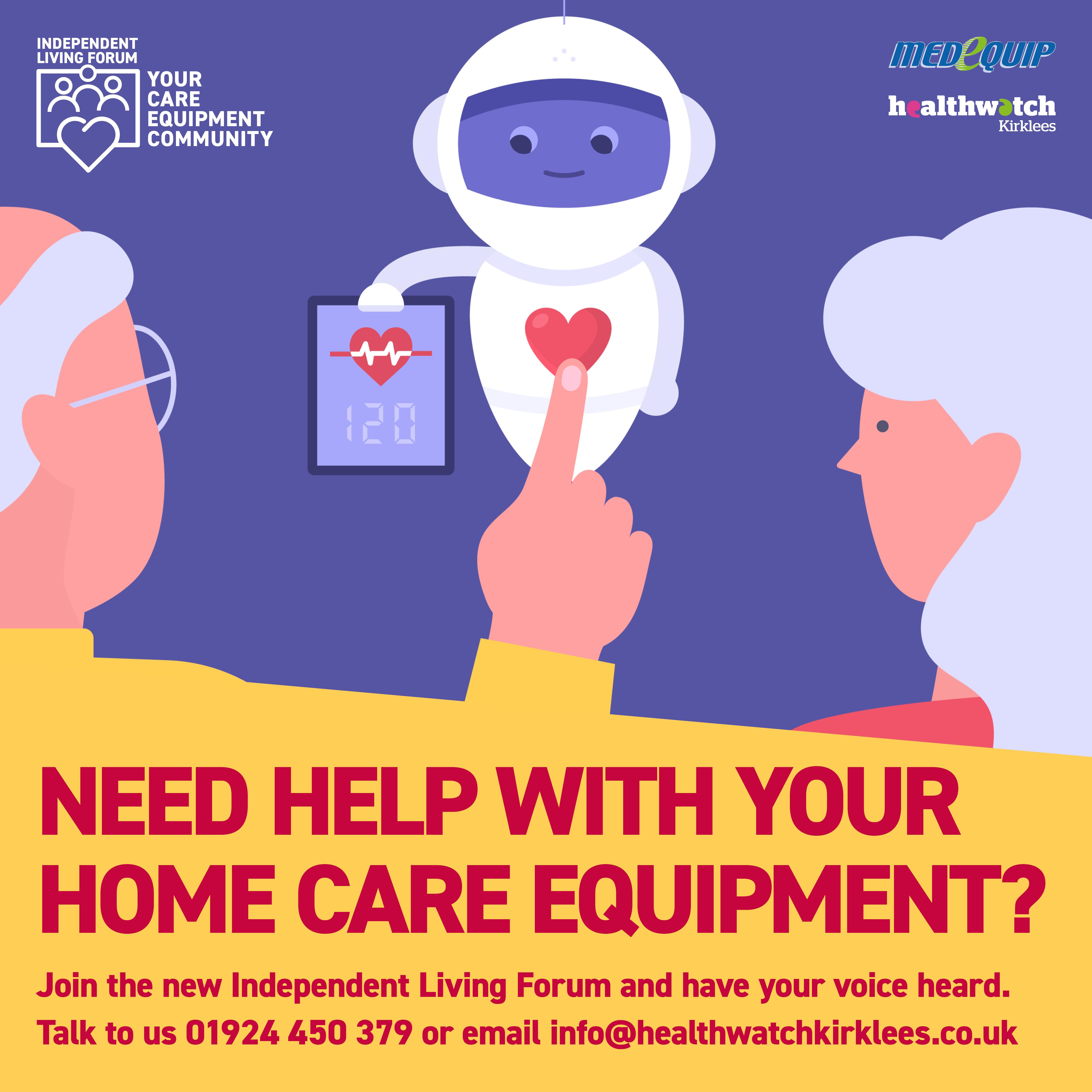 Home care equipment kirklees
