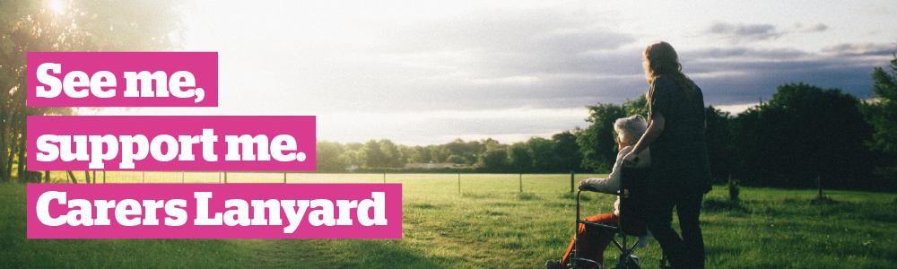 Carers Lanyard Kirklees - Website Banner