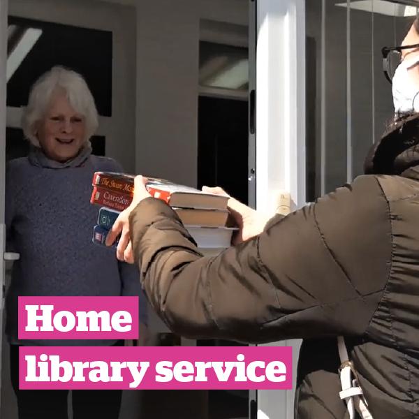 Home library service Kirklees