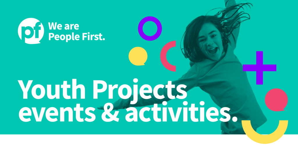 Events Schedule for Young People: September 2021