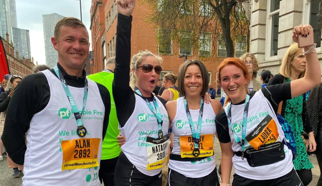 People First Take Part in First Charity Run